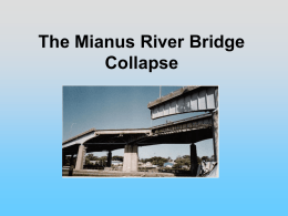 G11 The Mianus River Bridge Collapse - Powerpoint.ppt