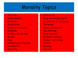 Morality Topics.ppt