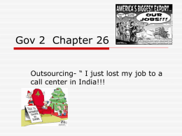 Outsourcing Notes Ch 26