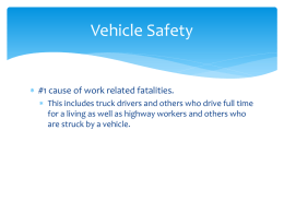 General Vehicle Safety