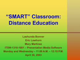 Distance Education Presentation.ppt