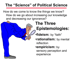 The Science of Political Science.ppt