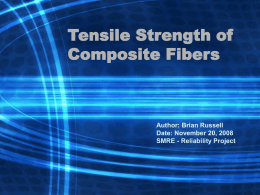 Tensile Strength of Composite Fibers.ppt