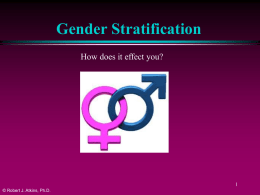 13GenderStratification