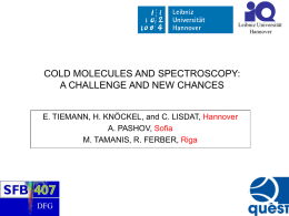 COLD_MOLECULES_AND_SPECTROSCOPY_Ohio_2008.ppt