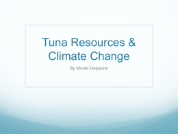 7. Tuna and Climate Change
