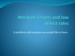 Attribute Charts and low defect rates.pptx