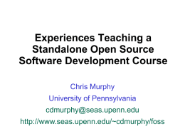 Mentorship Models in Open Source Software Development Courses