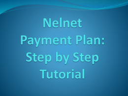 Tuition Payment Plan Tutorial