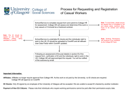 Flowchart - Process at College Level