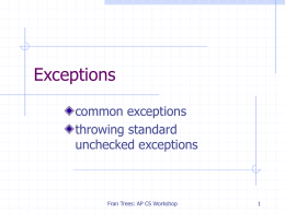 AP06-Exceptions.ppt: uploaded 1 April 2016 at 4:01 pm