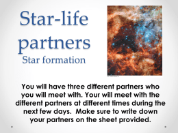 Instructions for Star-Life Partners