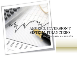 9. AHORRO, INVERSION Y SISTEMA FINANCIERo