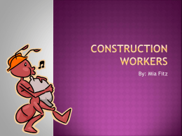 Mia- Construction Workers