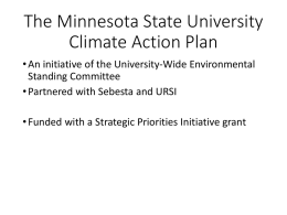Climate Action Plan Meet Confer PowerPoint
